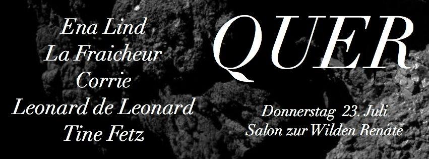 RA: Quer with Ena Lind, La Fraicheur, Corrie, Leonard De Leonard
