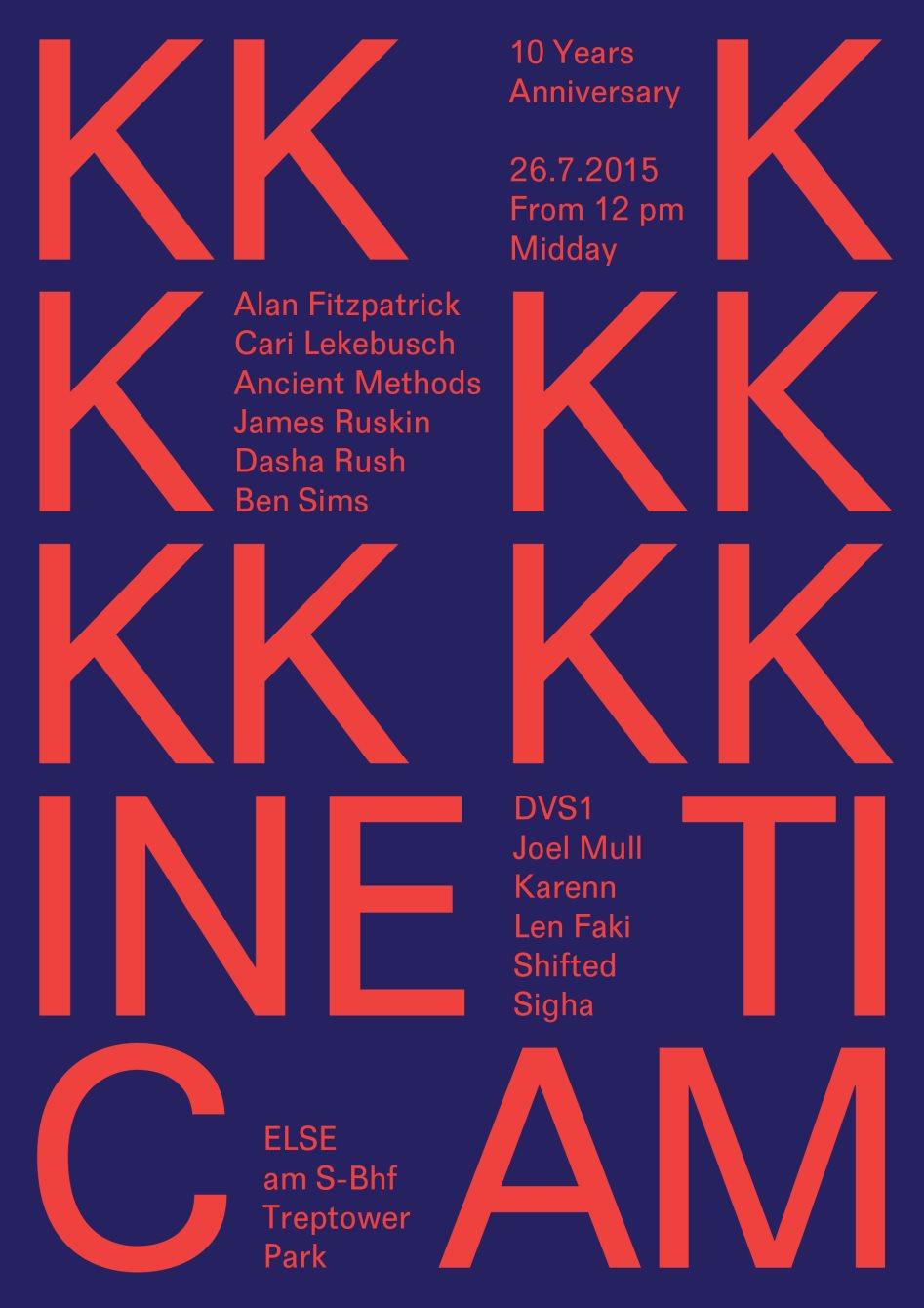 Len Design Berlin ra kinetic am 10 years anniversary at else berlin 2015