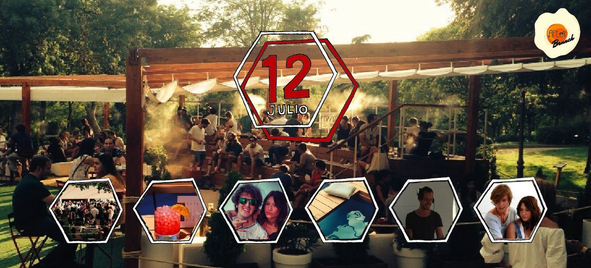 Ra After Brunch Open Air Party At Terraza Atenas Madrid 2015