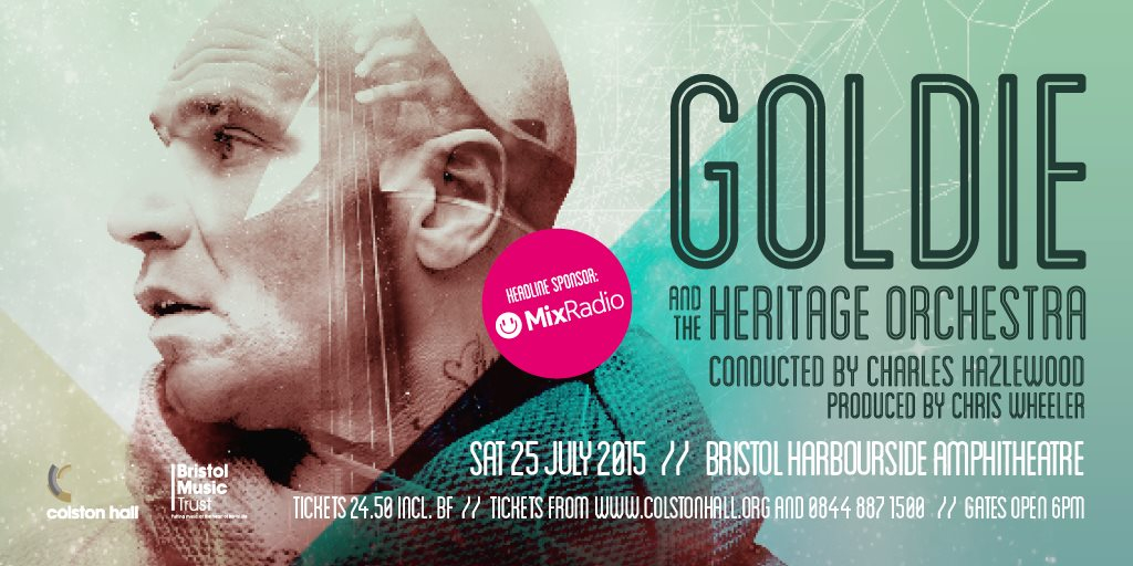 Ra goldie and the heritage orchestra at bristol for Jules buckley heritage orchestra