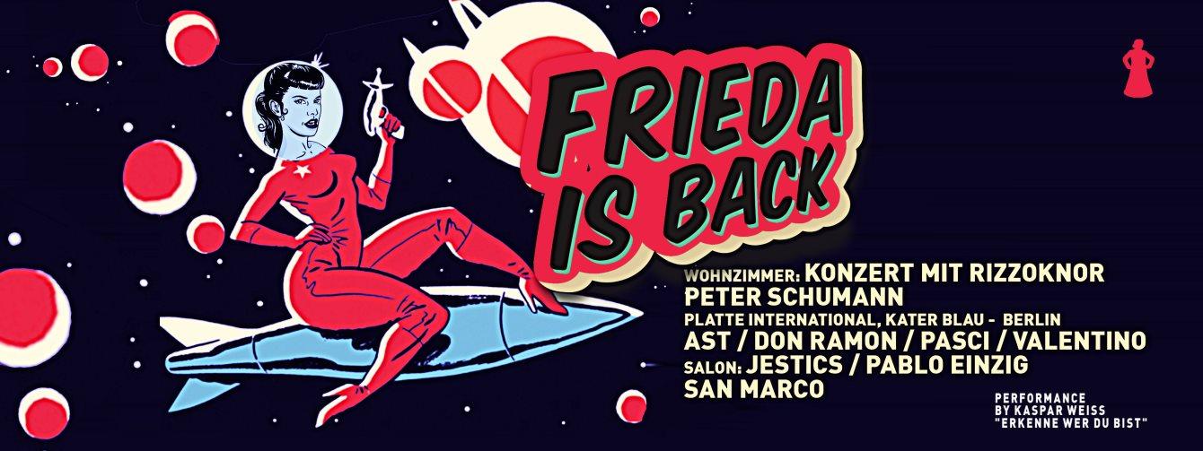 RA Frieda Is Back At Friedas Bxe Switzerland 2015