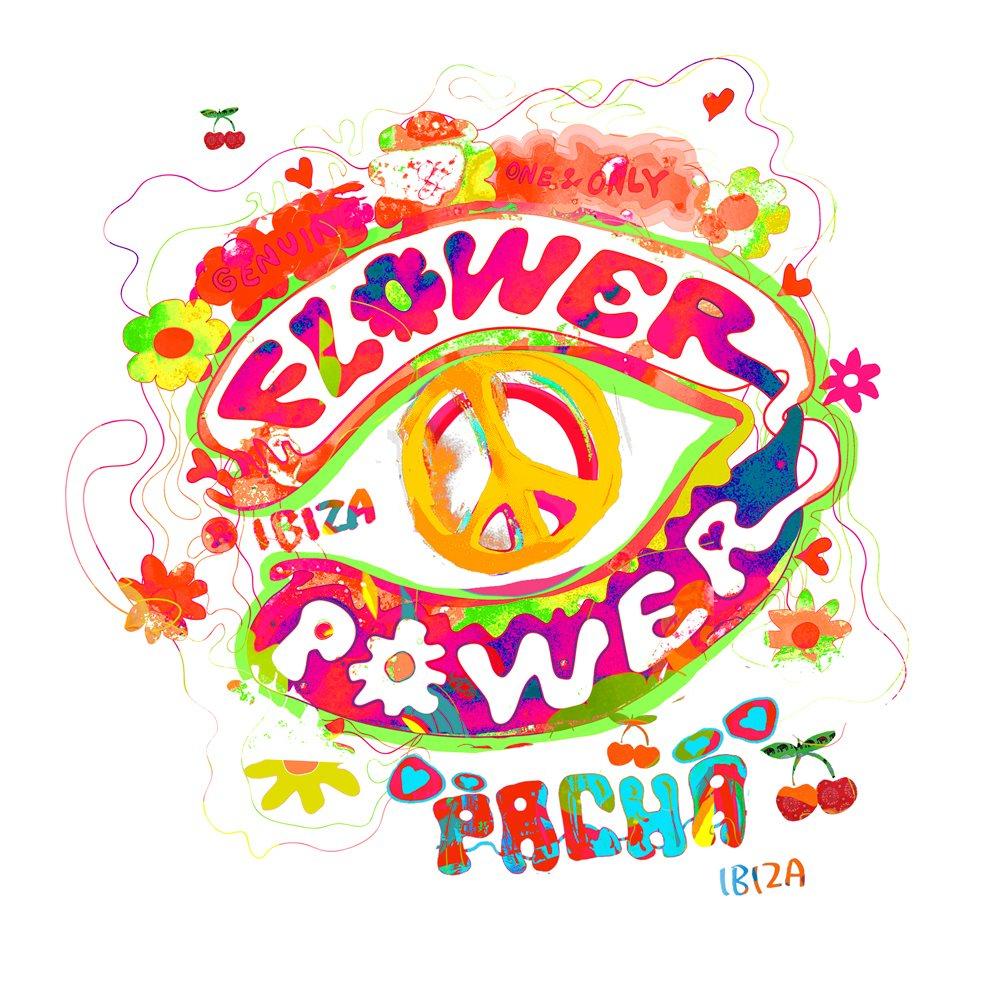 Ra Flower Power At Pacha Ibiza Ibiza 2015