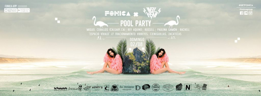 Ra Fonica Hell Yeah Present Pool Party At Virreyes Center 2015