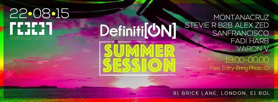 RA: Definition Summer Session w  Montana Cruz, Stevie R