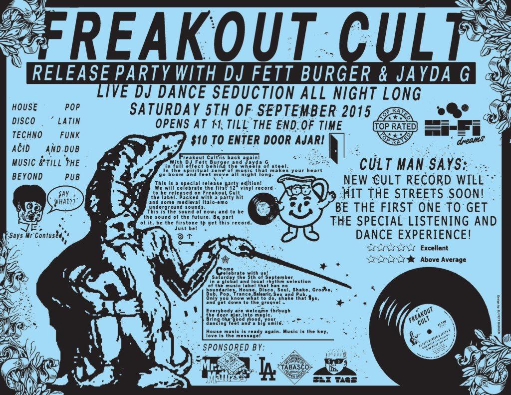 Resultado de imagem para Freakout Cult