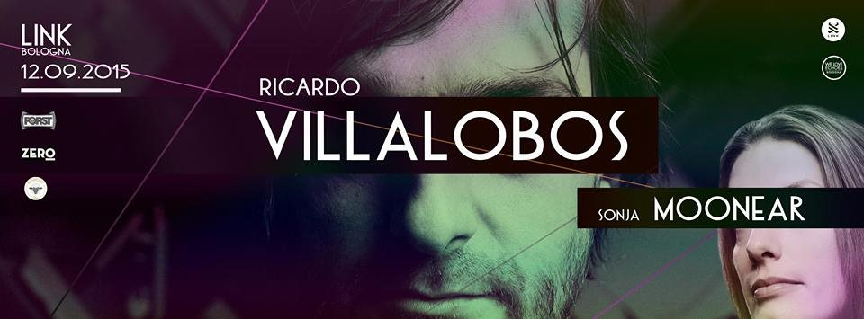 Page 1 | 12/09/2015 | Bologna | Ricardo Villalobos & Sonja Moonear at Link. Published by DjMaverix on Wednesday, 09 September 2015 in Live Set - Dance Hall - Party (Events)