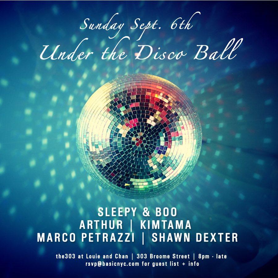 ra under the disco ball sleepy boo at louie chan new york 2015