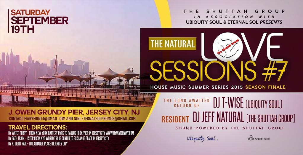 Ra the natural love sessions 7 house music summer series for Jersey house music
