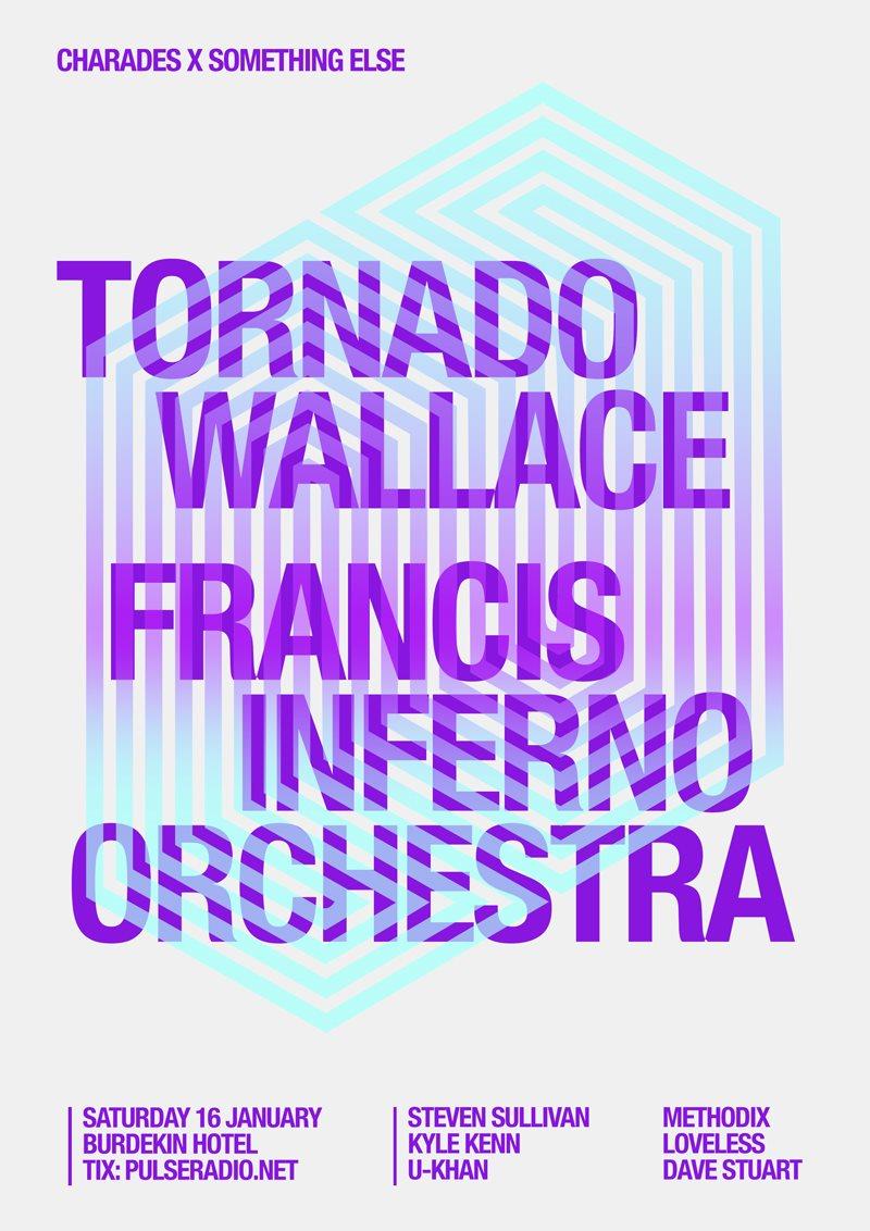 ra: something else & charades present tornado wallace & francis