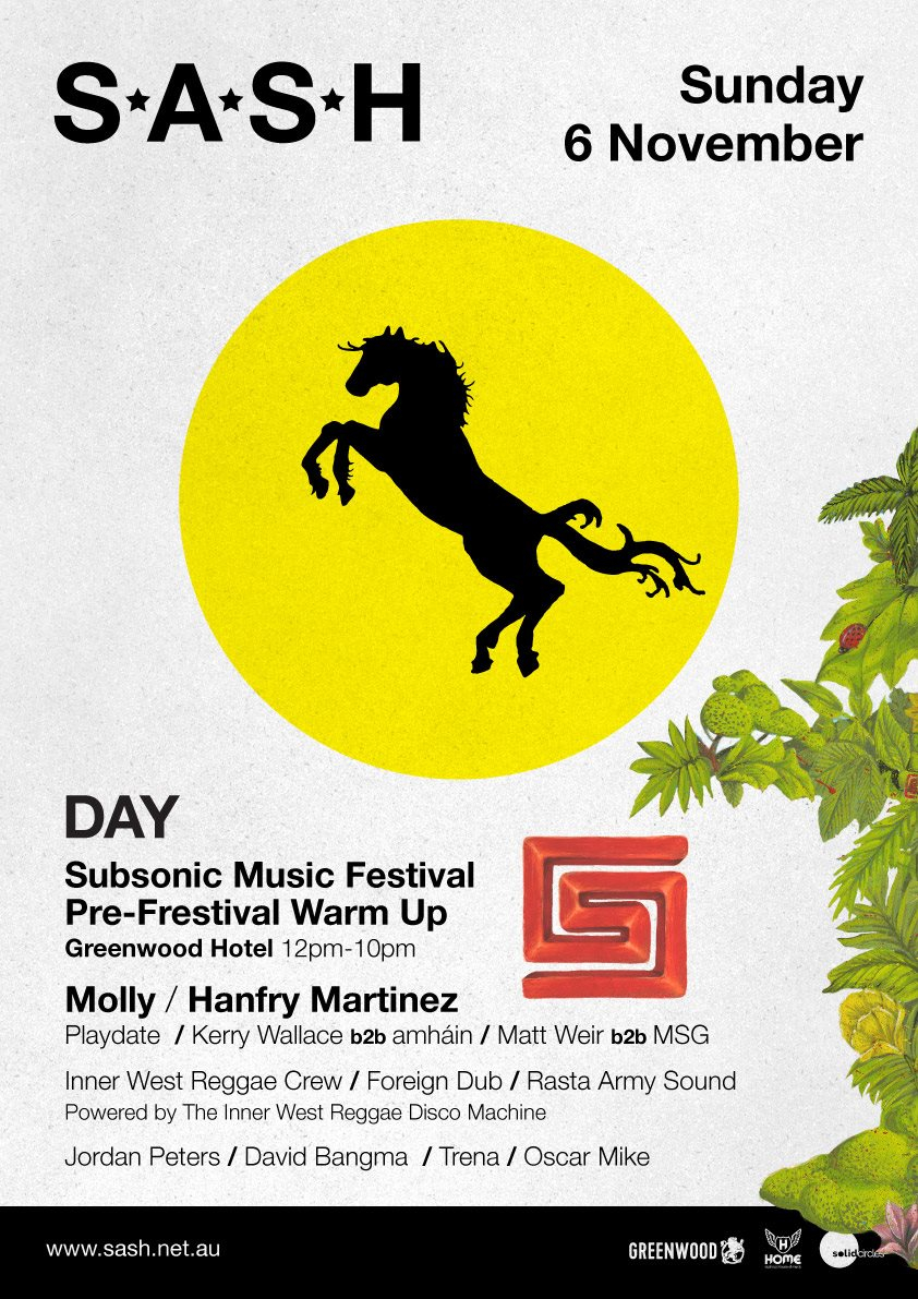 RA: Sash by Day Subsonic Pre-Festival Warmup at The