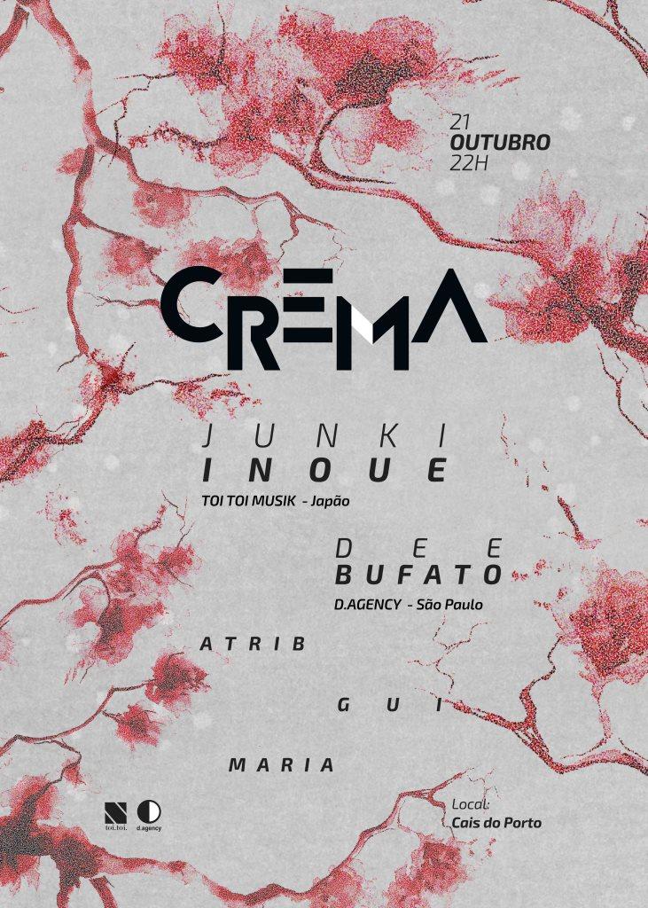 RA: Crema presents Junki Inoue & Toi Toi Musik at Crema, Brazil (2016)