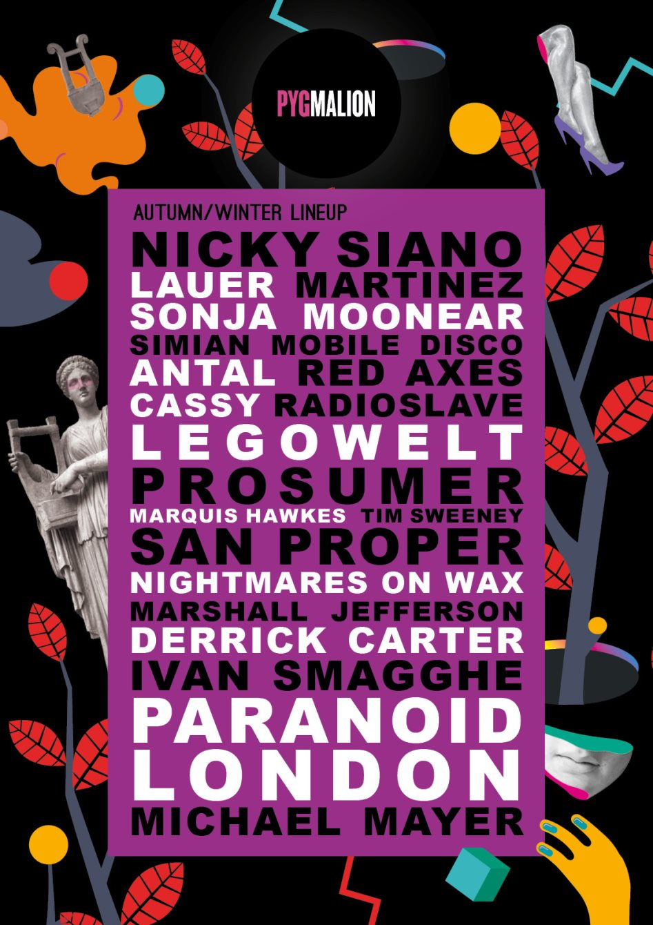 ra: halloween at powerscourt with nightmares on wax, marshall