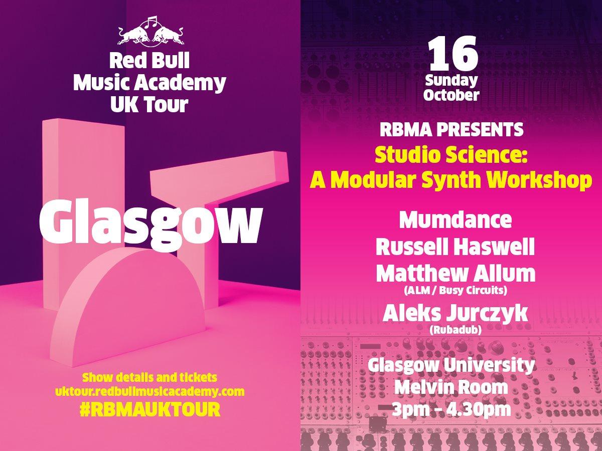 RA: Rbma UK Tour Pres  Studio Science: A Modular Synth
