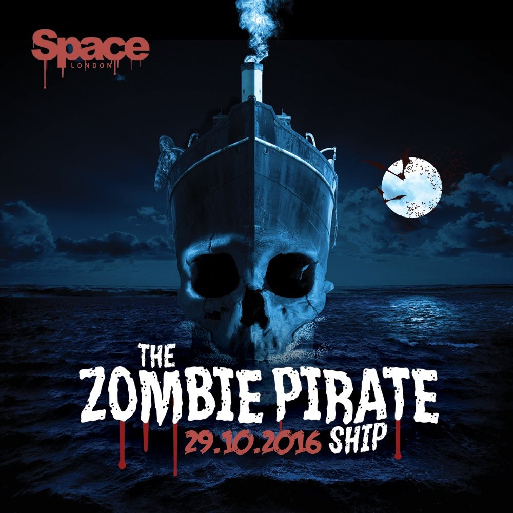 RA: Zombie Pirate Ship + Free After-Party - The Zombie Ball at ...