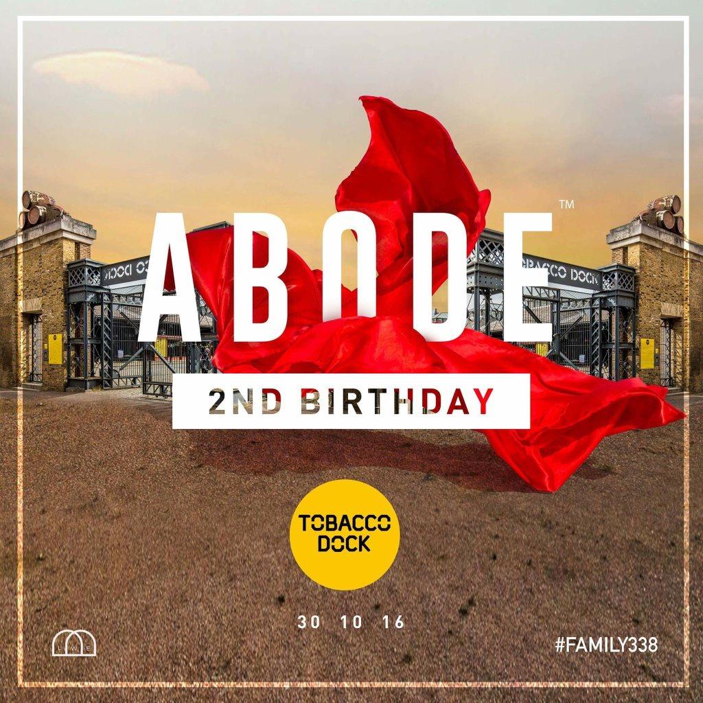 RA: Abode 2nd Birthday - Halloween Weekend at Tobacco Dock, London ...