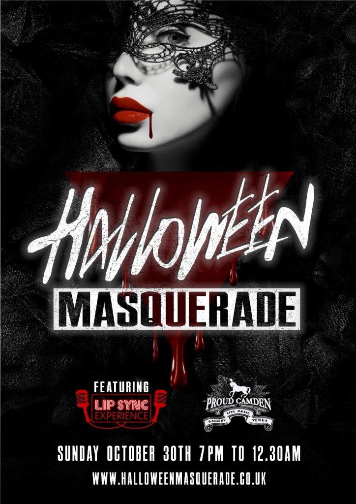 Ra Halloween Masquerade Party At Fest Camden London 2016