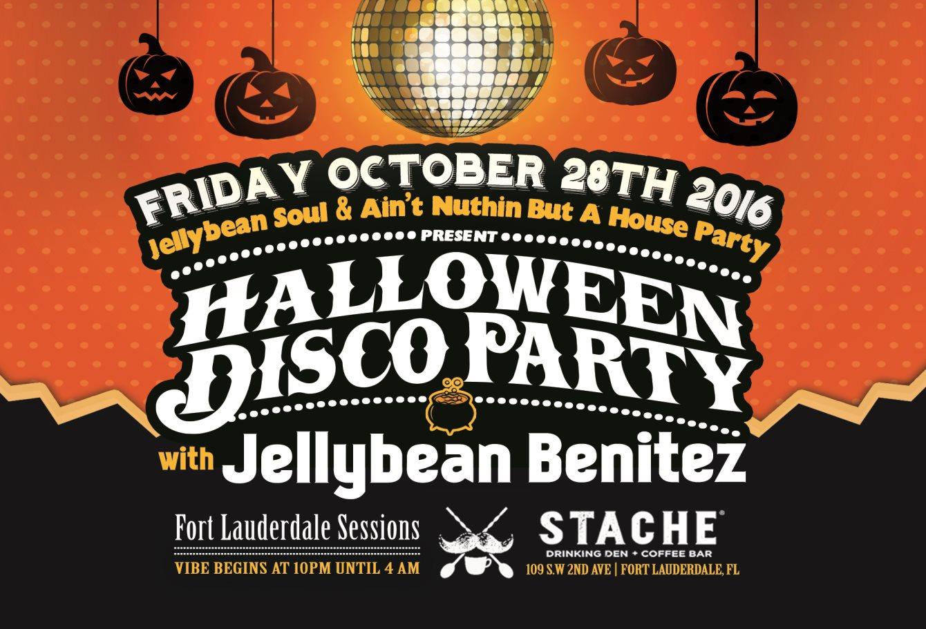 RA: Halloween Disco Party with Jellybean Benitez at Bar Stache ...