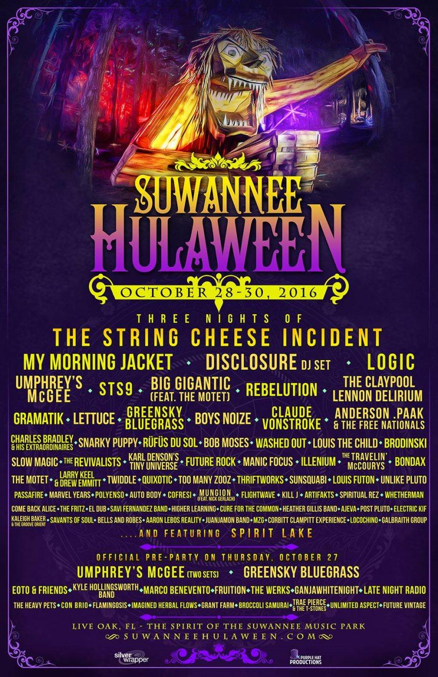 ra: suwanee halloween at spirit of the suwannee music park