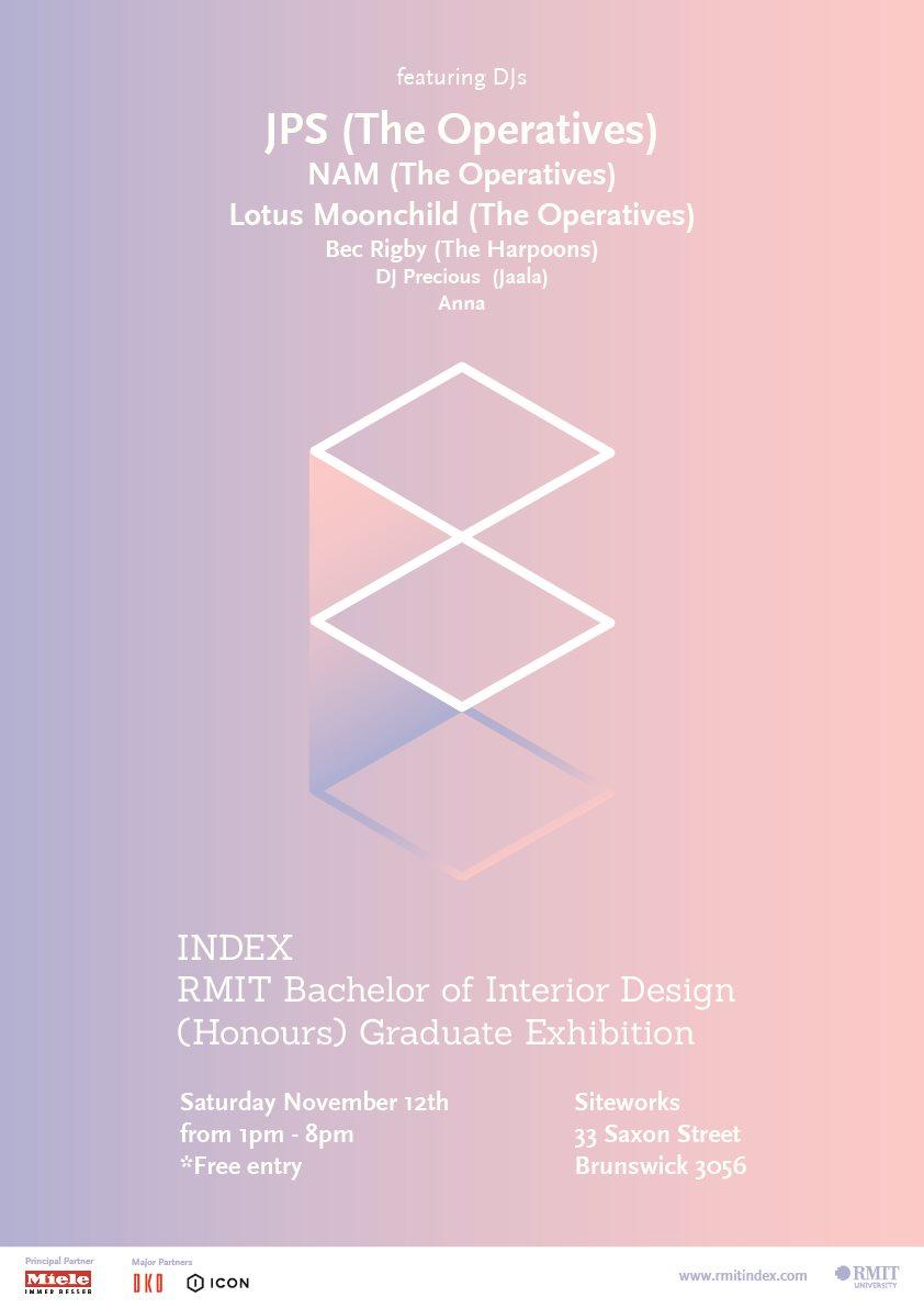 RA Index Rmit Interior Design Graduate Exhibition At Siteworks