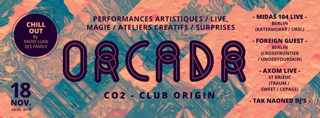 RA: TAK - Orcadr with Midas 104, Foreign Guest, Axom Live
