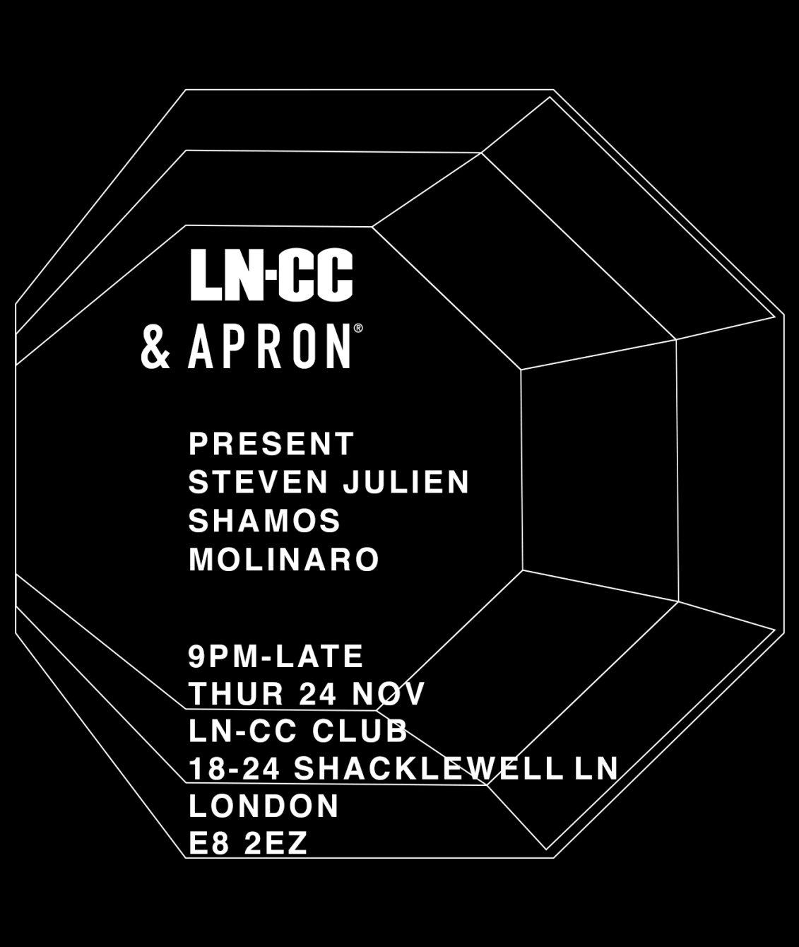 White apron london - Line Up