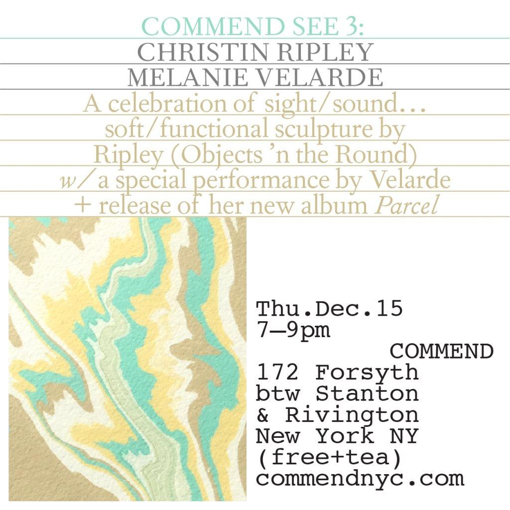 9388e146a88 RA  Melanie Velarde   Christin Ripley at Commend NYC