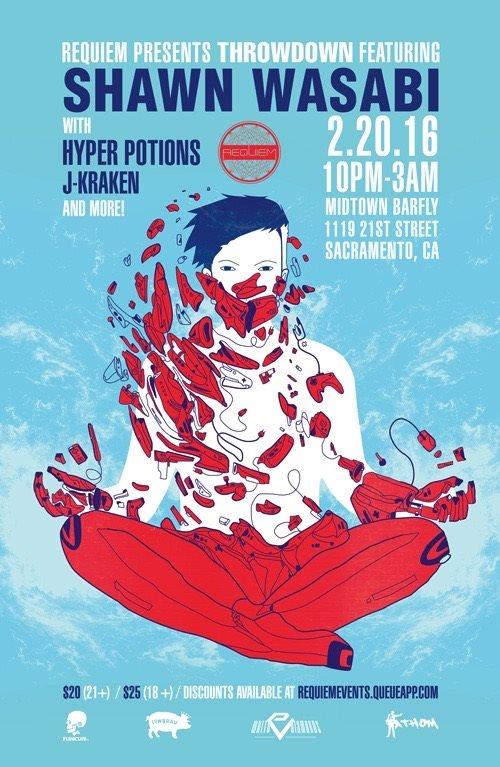 Ra Throwdown Feat Shawn Wasabi Hyper Potions J Kraken At Midtown