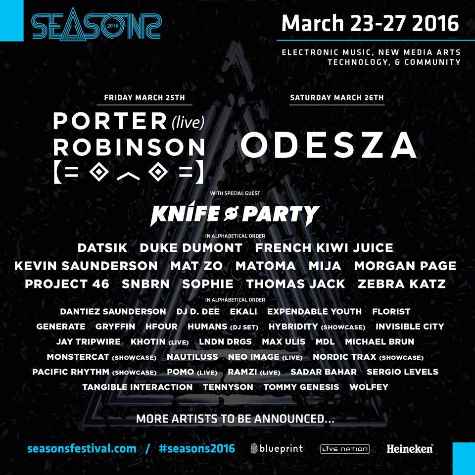 Ra seasons festival 2016 at tba vancouver vancouver 2016 line up malvernweather Choice Image
