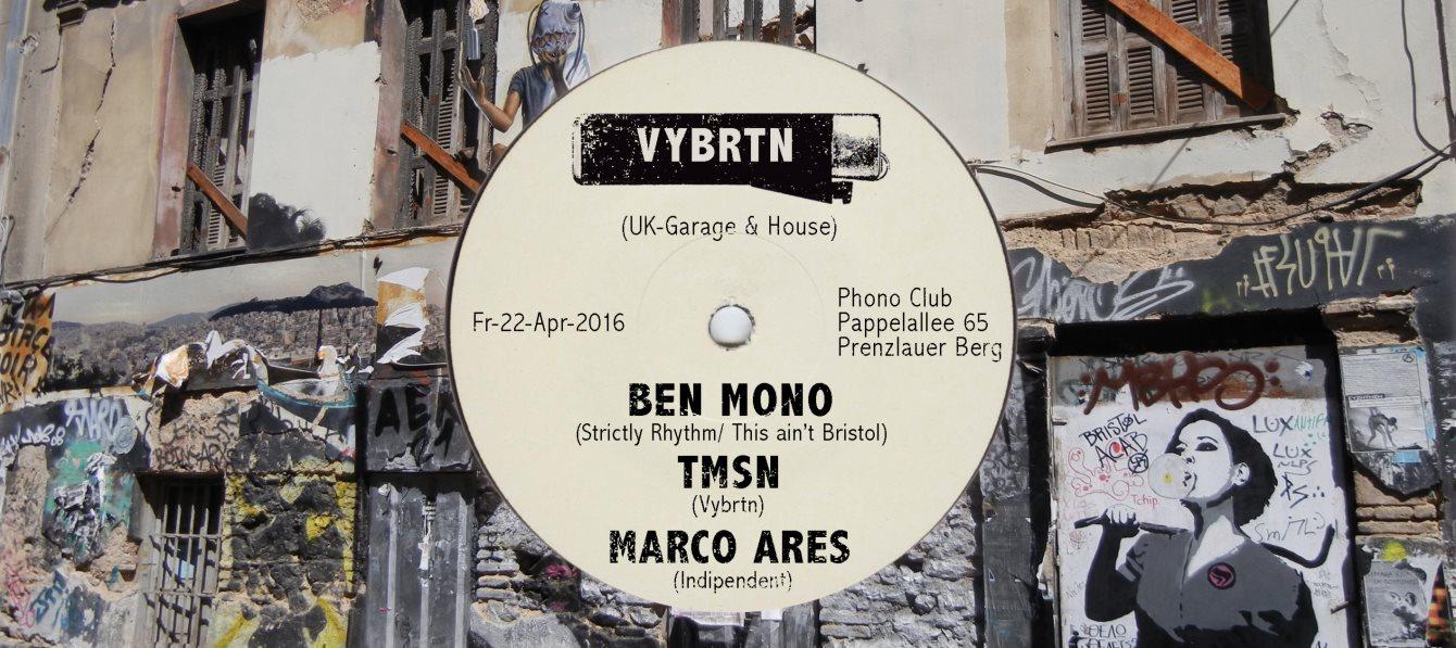 Ra vybrtn pres uk garage and house at phonoclub berlin for Garage ad barlin