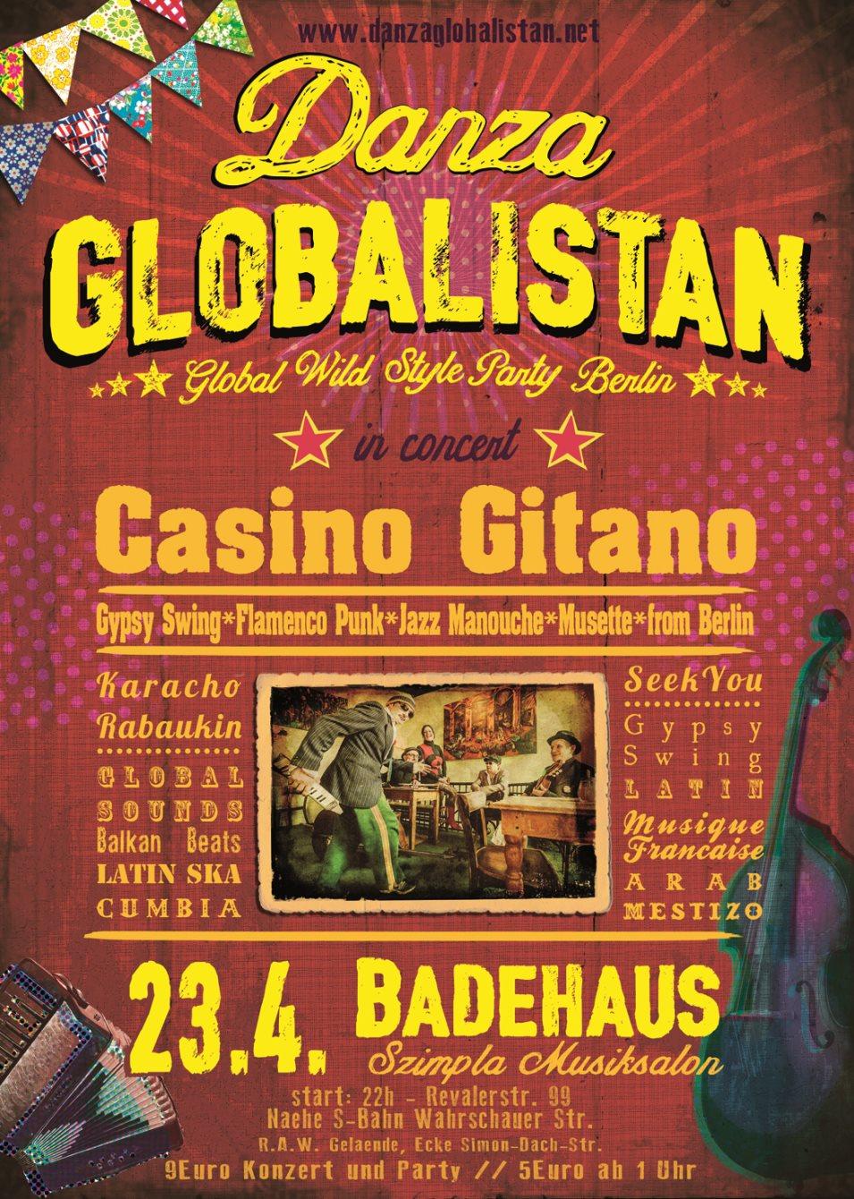 Casino gitano konzertdaten chinese gambling game fan tan