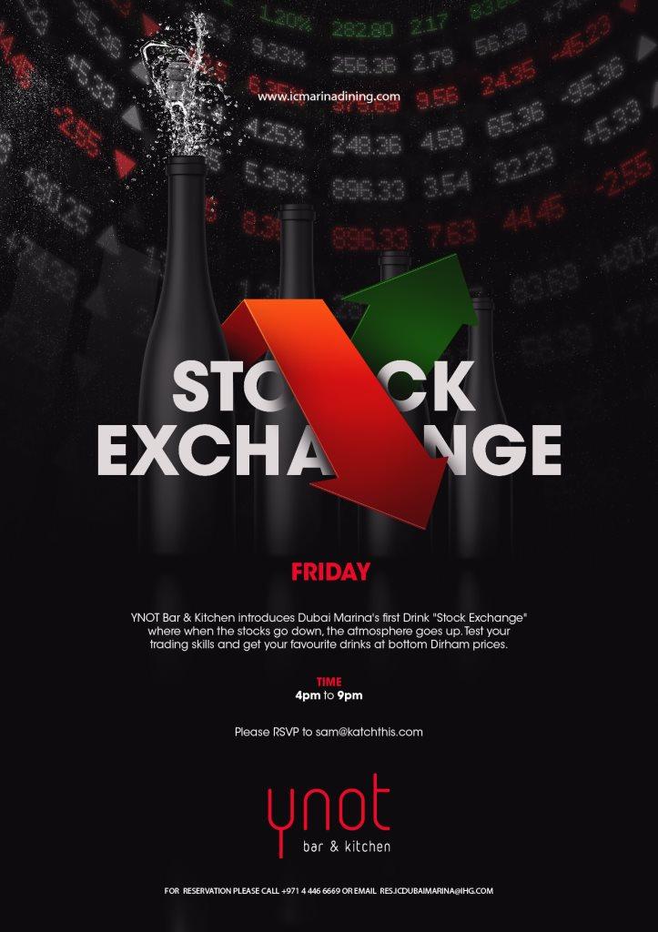 RA: Ynot Stock Exchange at Ynot Bar and Kitchen, Dubai (2016)