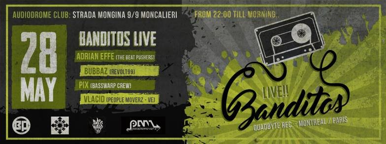 Page 1   28 Maggio 2016 Moncalieri   Banditos Live! Torino at Audiodrome. Published by DjMaverix on Wednesday, 25 May 2016 in Live Set - Dance Hall - Party (Events)