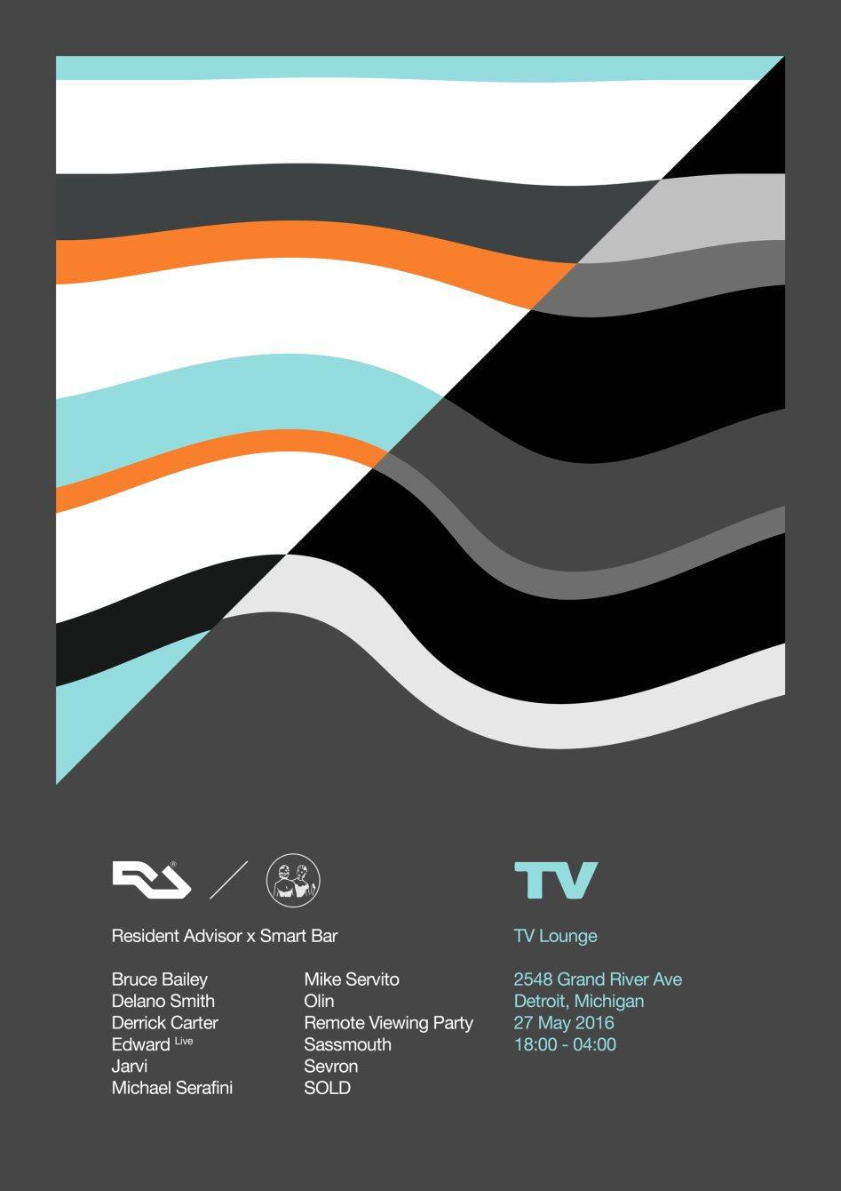 RA: Smartbar x Resident Advisor at TV Lounge, Detroit (2016)