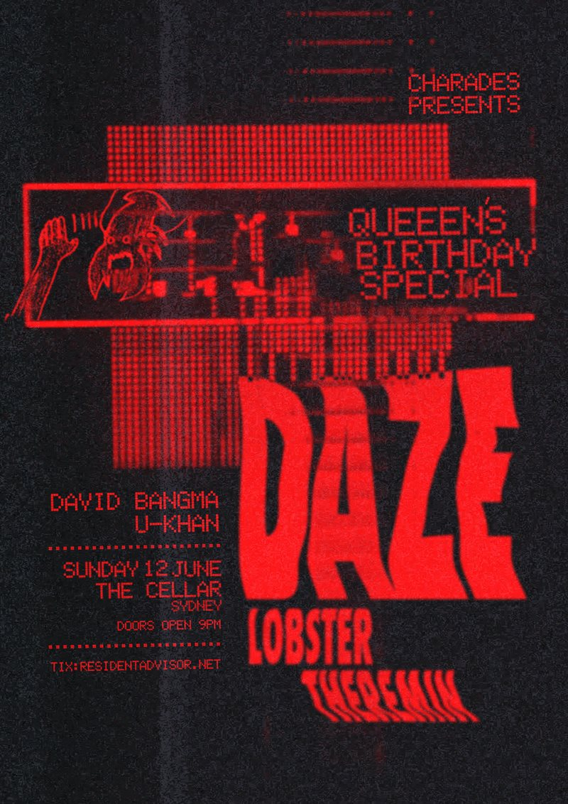 ra: charades feat. daze • queen'z birthday sunday at the cellar