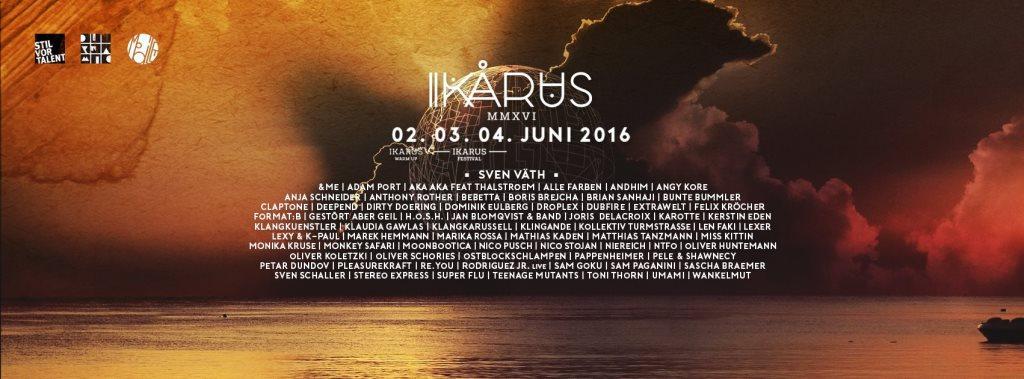 Ikarus 2020 line up