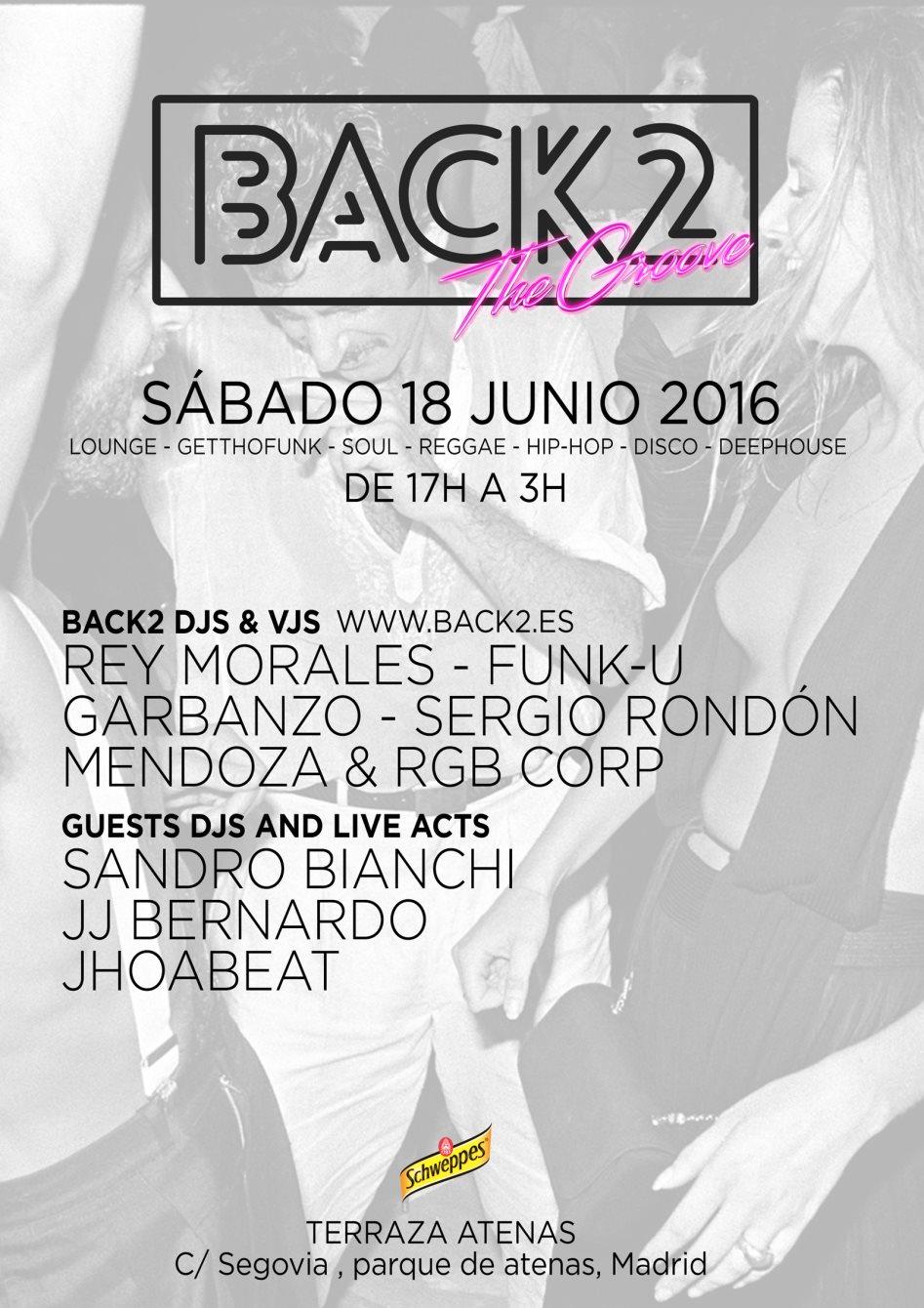 Ra Back2 The Groove At Terraza Atenas Madrid 2016