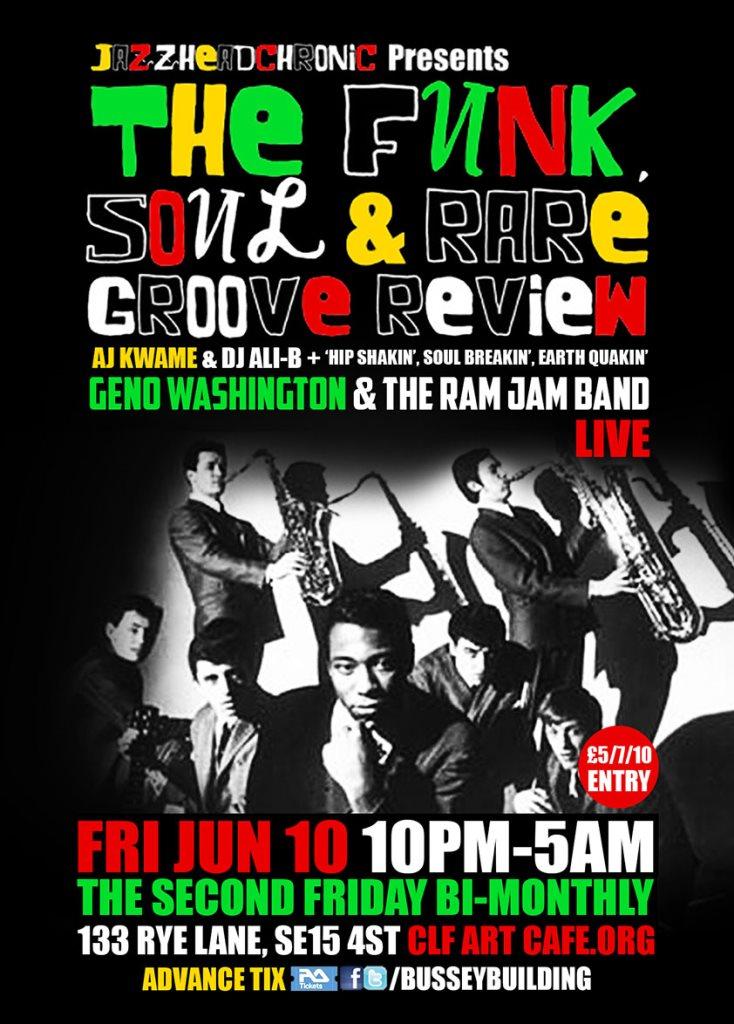 Geno Washington The Ram Jam Band Water