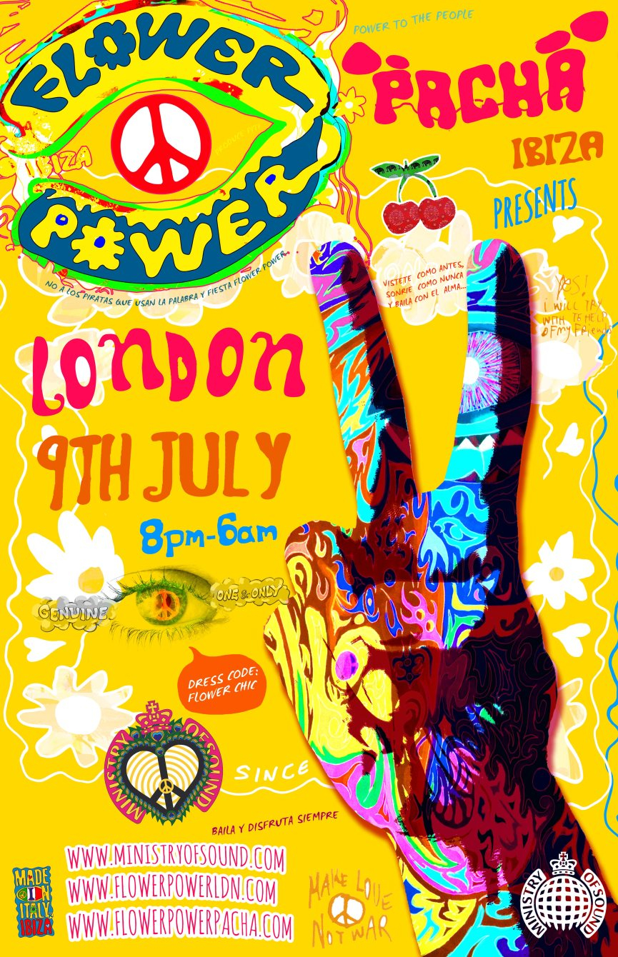 Top RA: Flower Power London Summer Party at Ministry Of Sound, London  US72