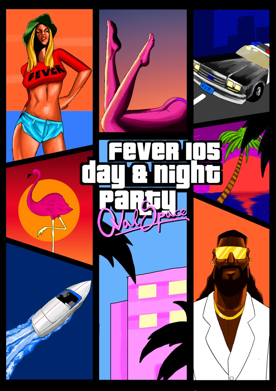 Ra Fever 105 S Grand Theft Auto Vice City Day And Night