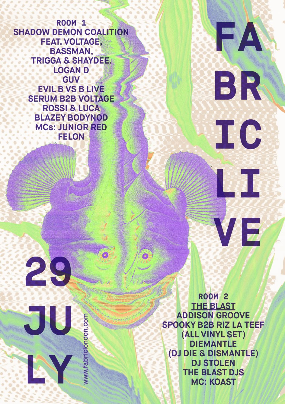 Ra Fabriclive Shadow Demon Coalition With Voltage