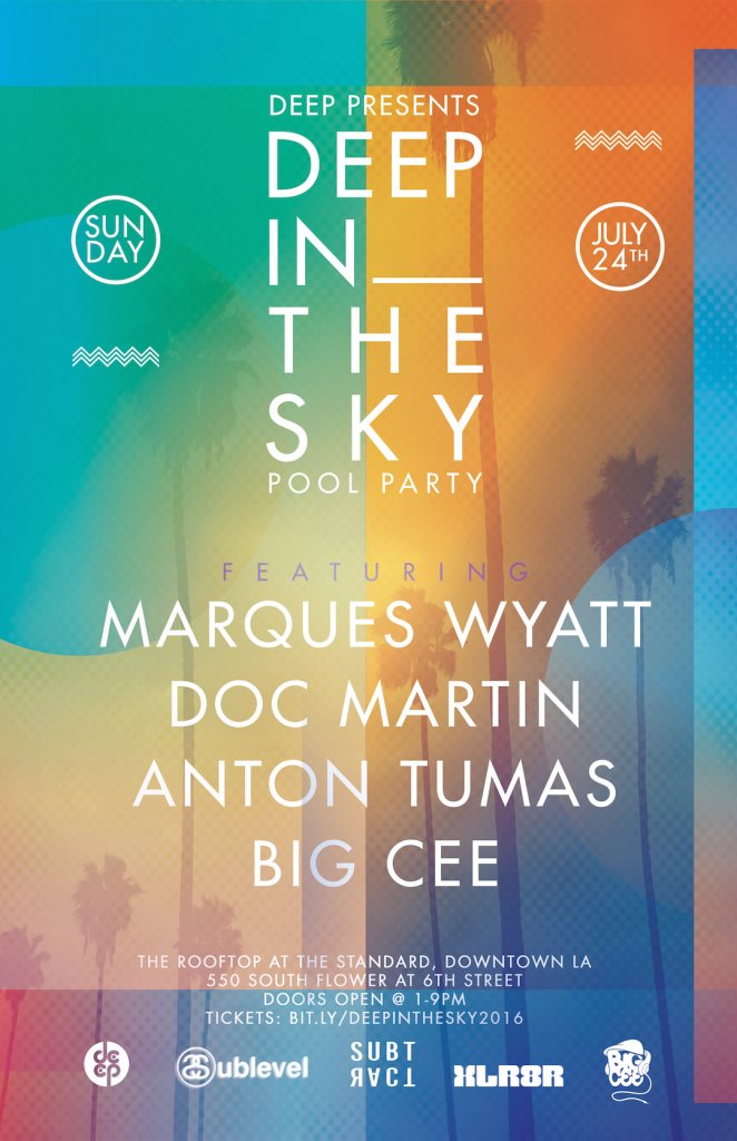 RA Deep Presents In The Sky At Rooftop Standard