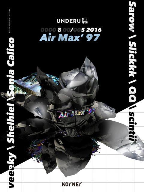 RA: Underu presents Air Max '97 at Korner, Taipei (2016)
