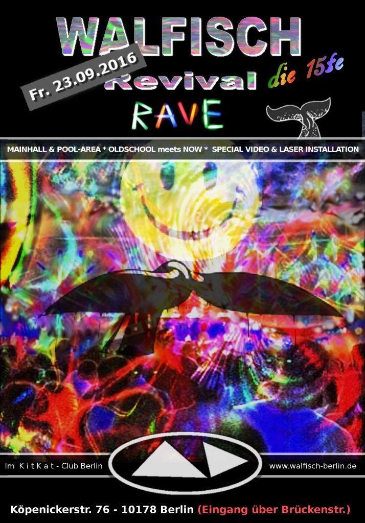 Ra Walfisch Revival Rave At Kitkatclub Berlin 2016