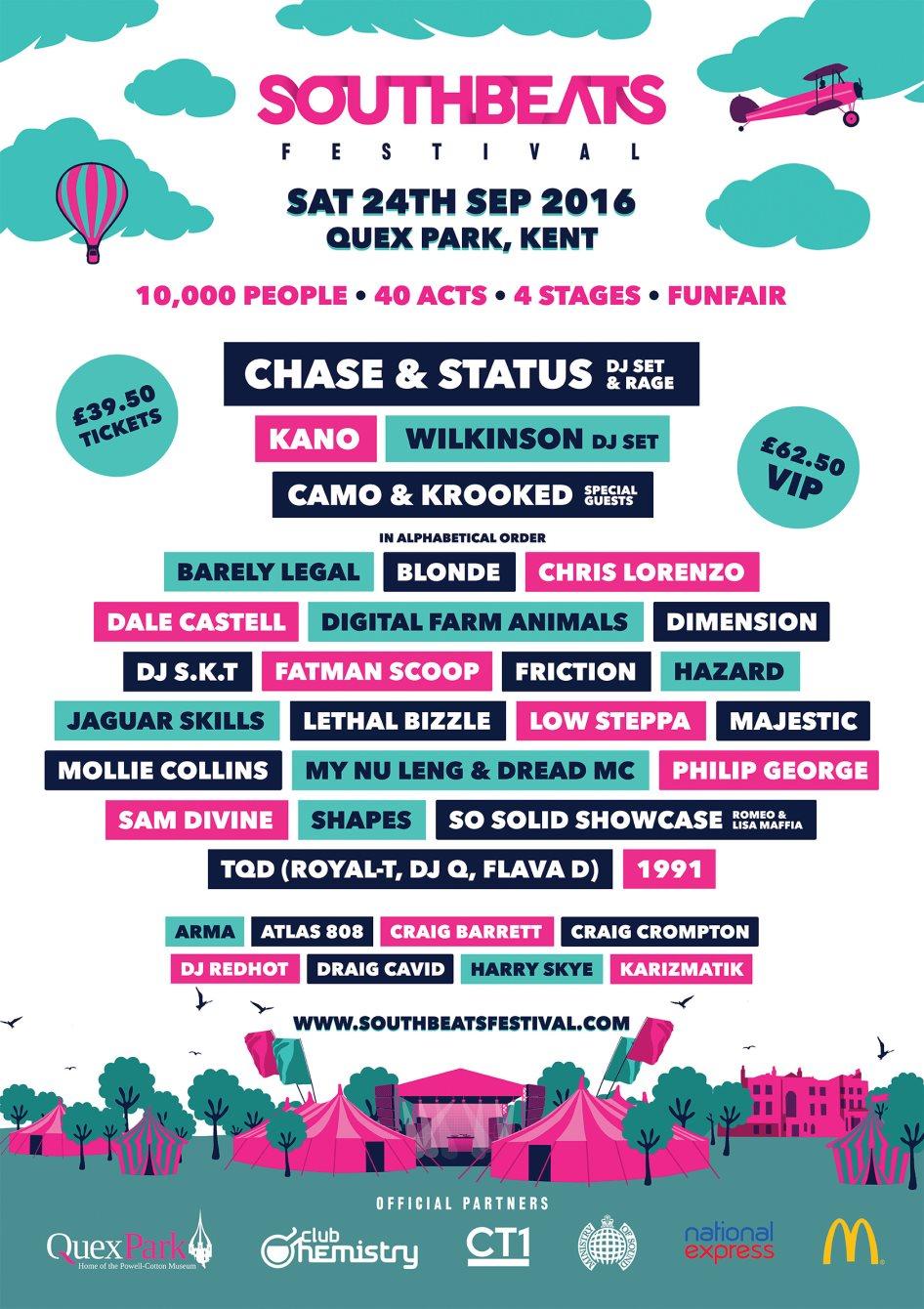 Ra Southbeats Festival At Quex Park South East 2016