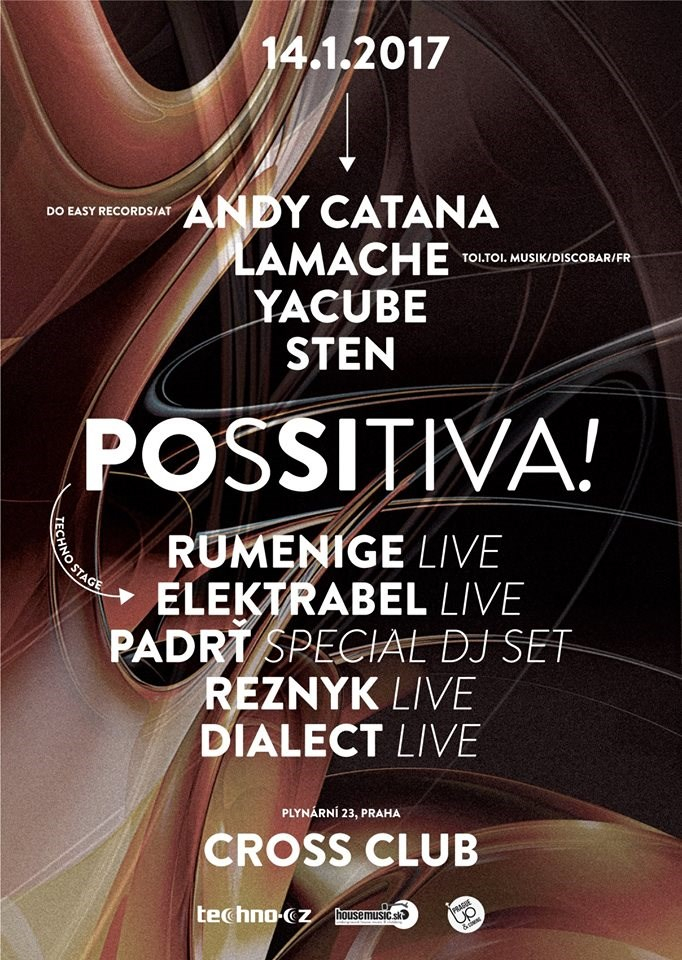 RA: Mighty Cross Sounds & POSSITIVA! & Techno CZ Stage at Cross Club