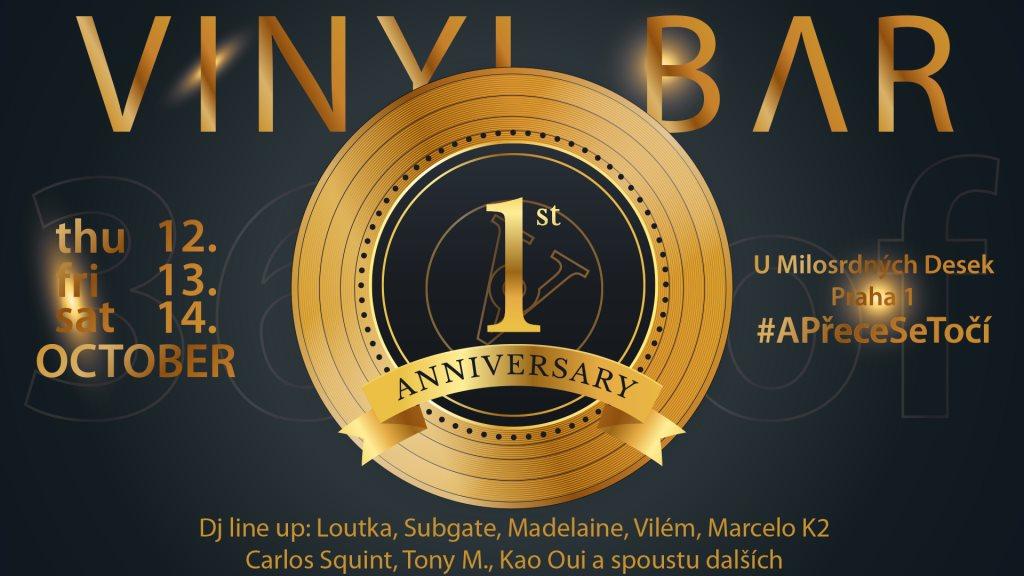 Ra: 365 days of vinyl! 1st anniversary party at vinyl bar czech