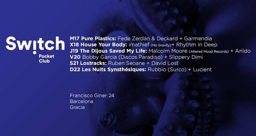 RA: Bobby Garcia & Slippery Dimi at Switch Bar, Barcelona (2017)
