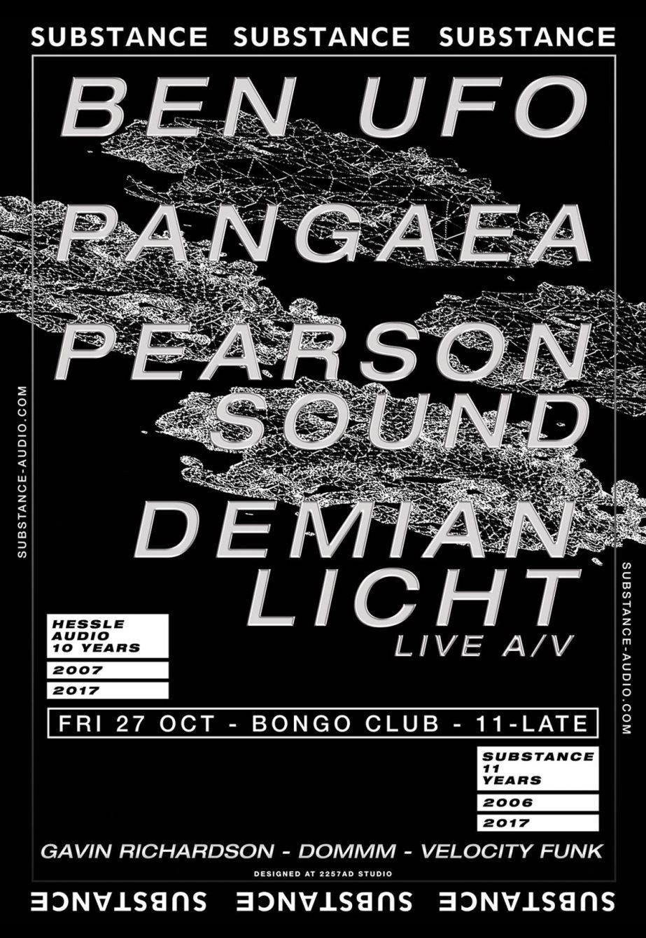 RA: Substance - Ben UFO, Pangaea, Pearson Sound & Demian Licht (Live