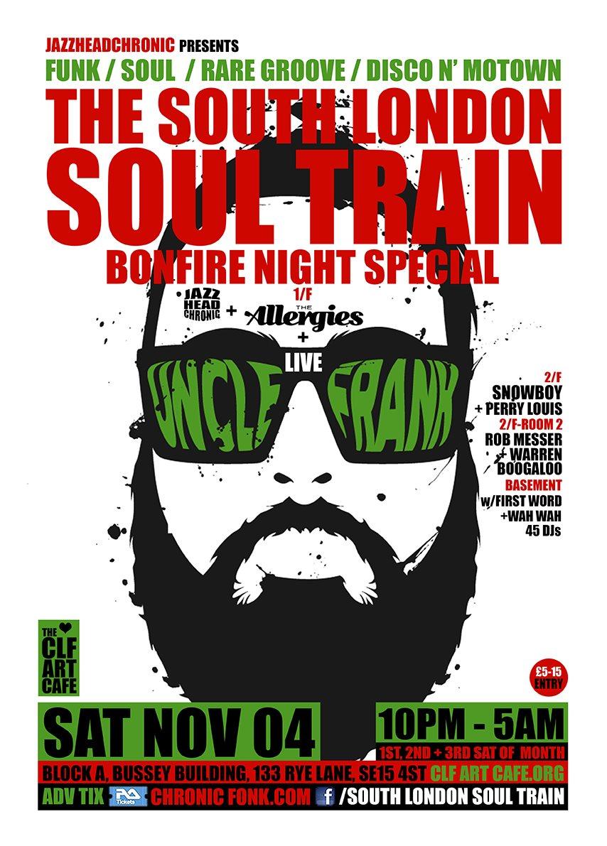 ra the south london soul train halloween special a 3 floor 4