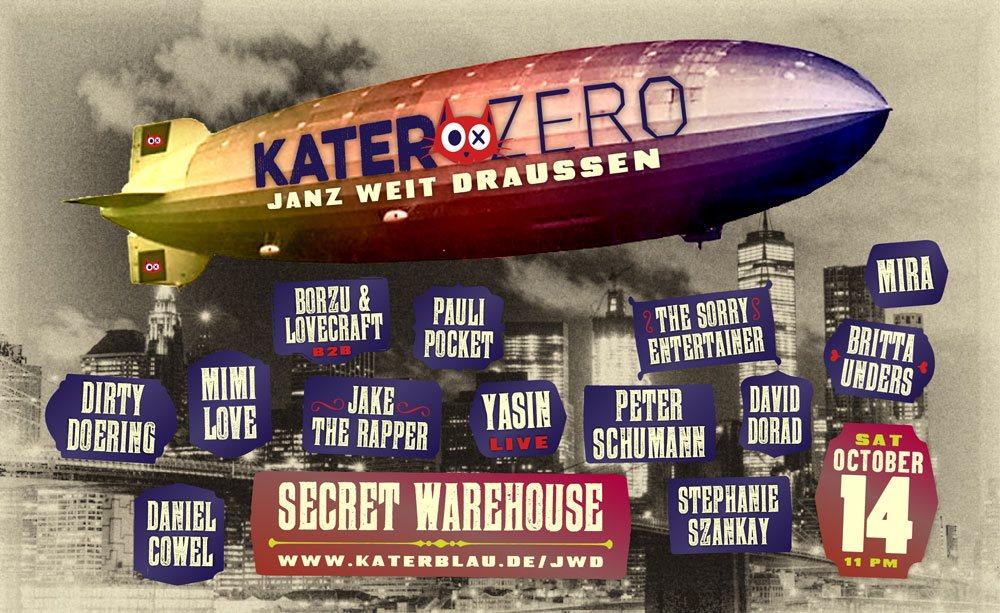 Jwd Berlin ra zero presents kater blau jwd take ii cirque magique at